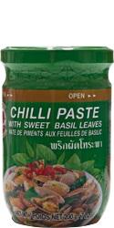 Pasta chili z bazylią
