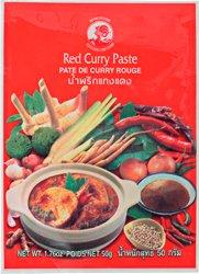 Pasta curry - czerwona
