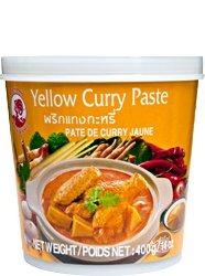 Pasta curry żółta