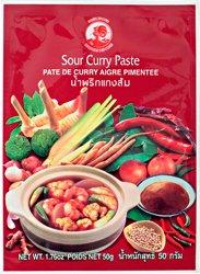 Pasta curry - kwaśna